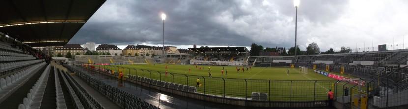 Stadion an der Grünwalder Straße aka. Hermann-Gerland-Kampfbahn